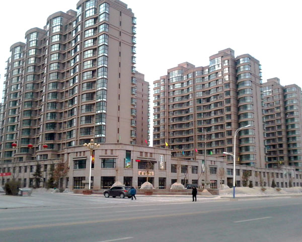 "Linxia City East ""three gold waterfront district"""